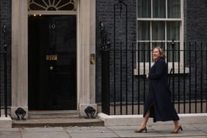 Anne-Marie Trevelyan arriving at No 10.